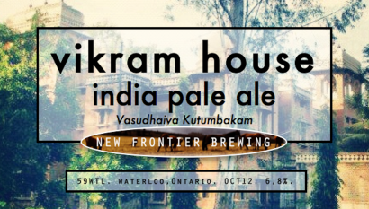 v2 Vikram House IPA Label
